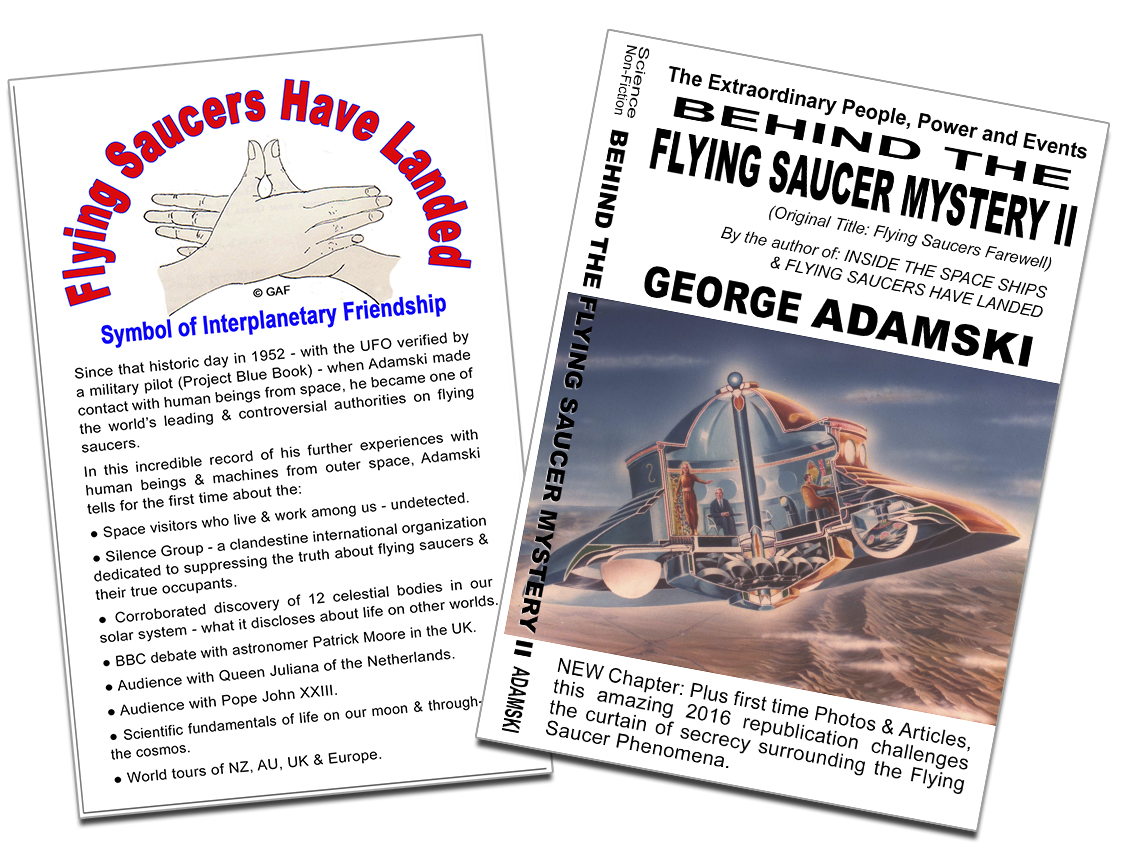 Behind The flying Saucer Mystery II